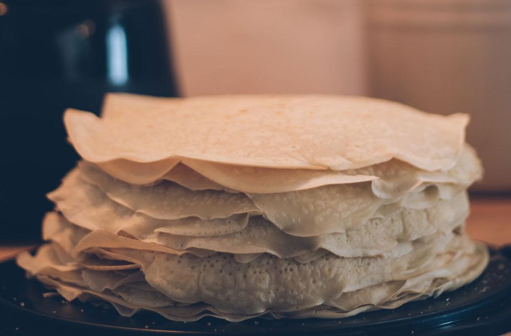 low carb rezept Eierkuchen Pfannkuchen, Crepe