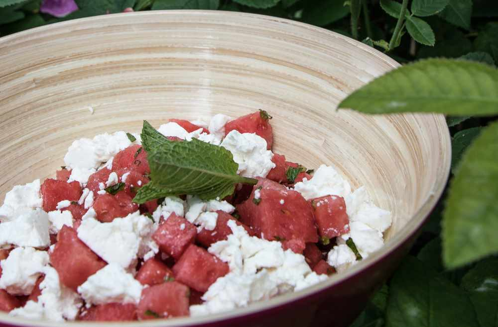 rezept Salat low carb Melonen-feta-salat migräne migränetipps ernährungsberatung münchen avocadooo