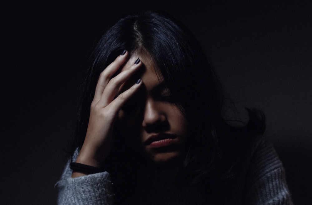 Migräne Vortrag Frau
