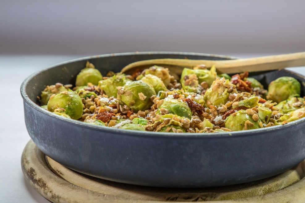 Rezept Rosenkohl linsen avocadooo Ernährungsberatung
