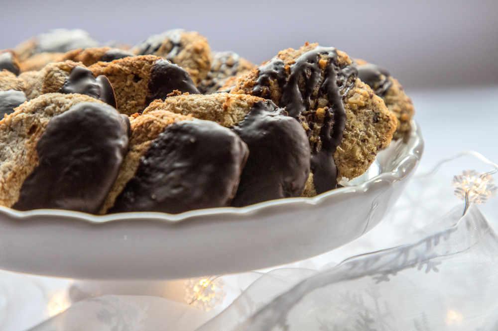 kohlenhydratarm Migräne Gebäck Cookies Zitronen Ingwer avocadooo