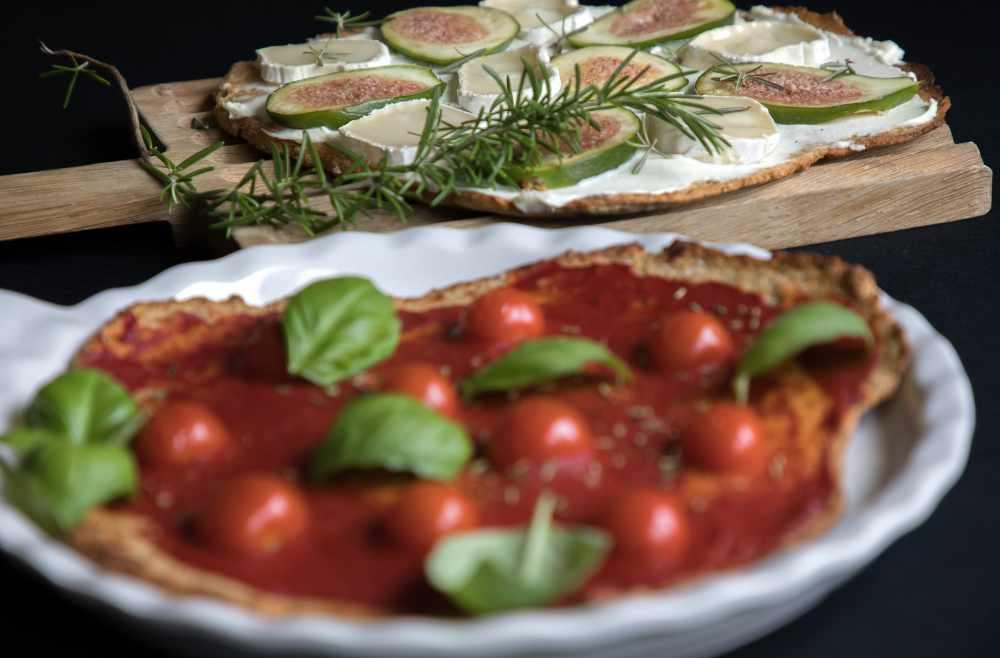 low carb pizza lchf migraine ernährungsberatung München avocadooo goldhammer-michl migräne ziegenkäse feigen